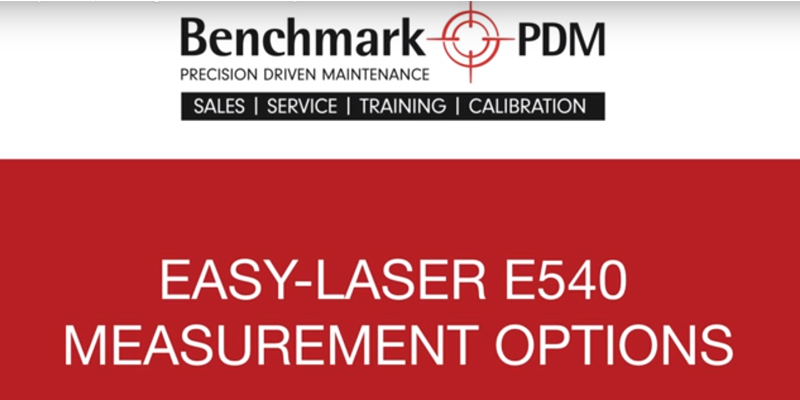 Another Video Demo on mid-range Shaft Alignment system's Measurement Options!