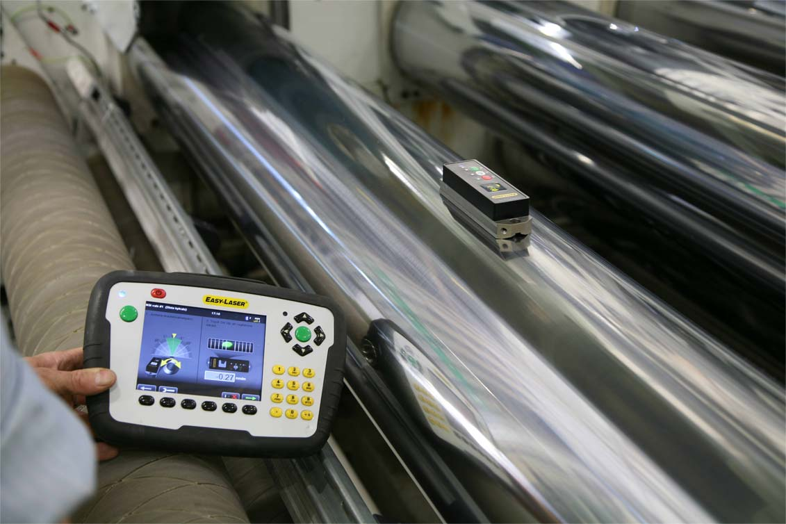 E970 Roll Alignment Tool Easy Laser Benchmark Pdm