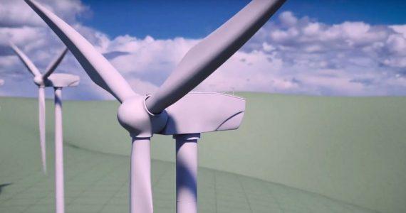 Flange Spin E915 wind turbine