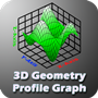 3D SURFACE GEOMETRY PROFILE GRAPH