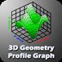 3D SURFACE GEOMETRY PROFILE GRAPH
