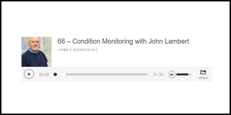 condition monitoring pod cast