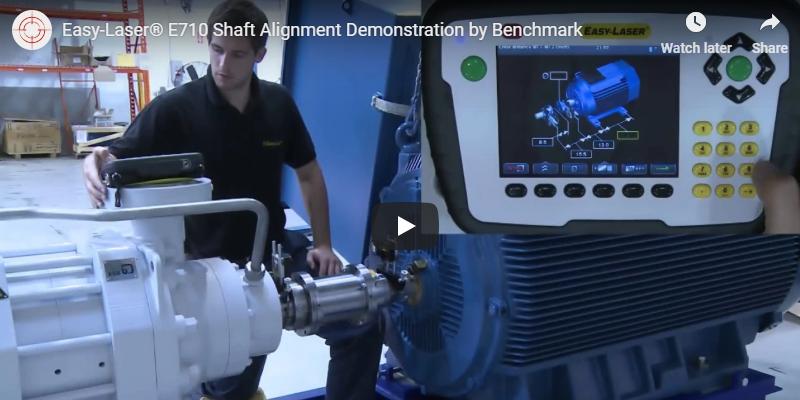 e710 shaft alignment demo