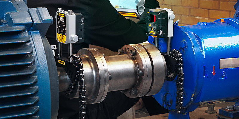 laser shaft alignment systems