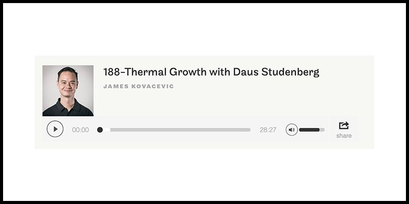 THERMAL GROWTH WITH DAUS STUDENBERG