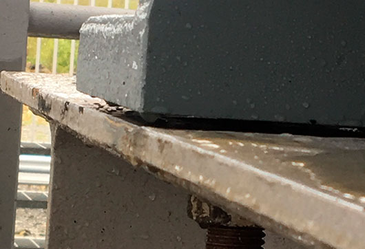 Reliable machinery installation soft foot